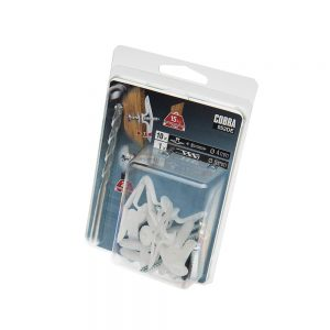 4mm Cobra Short Nylon Toggle, 10 pack