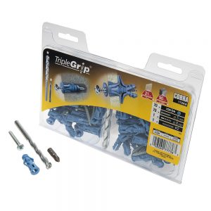 5mm Cobra Blue Triple Grip, 70 Pack