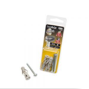 6mm Cobra Grey Triple Grip, 2 Pack