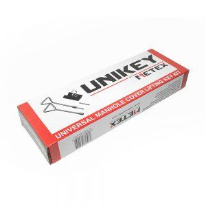 Metex Unikey, Universal Manhole Key Lifting Set (c/w Tip Pouch)
