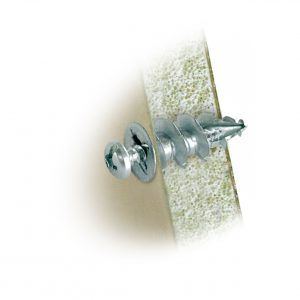 4.5mm Cobra Zinc Wall Driller, 100 Pack